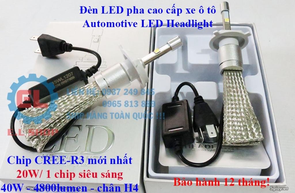 E.L SHOP - Đèn Led siêu sáng xe ô tô: XHP70, XHP50, Philips Lumiled, gương cầu xenon... - 10