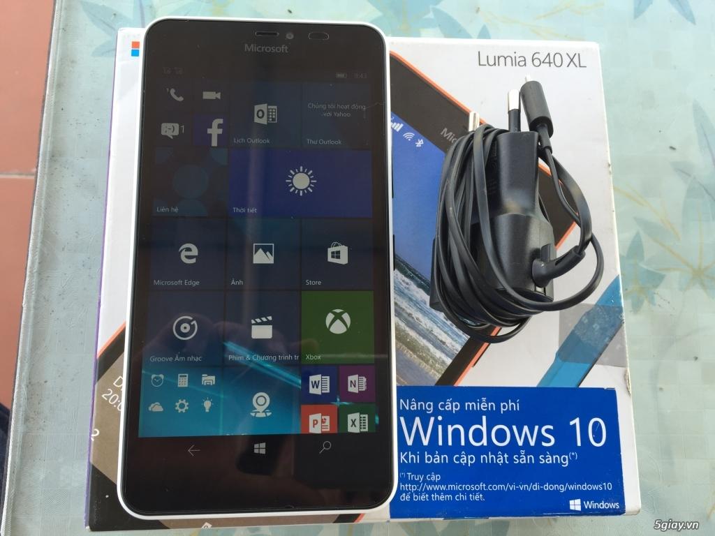Lumia 640XL white fullbox bh dài