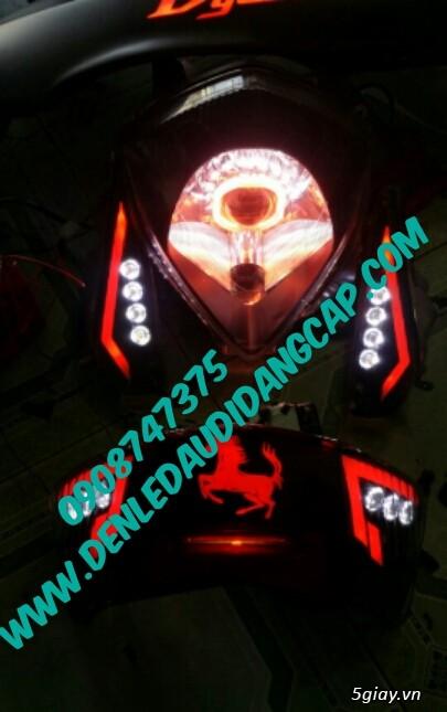 Chuyên độ tem đèn led cho các dòng xe máy - 5