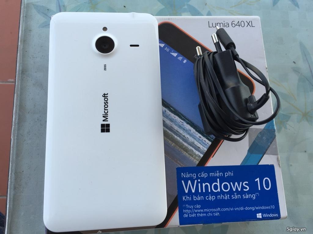 Lumia 640XL white fullbox bh dài - 1