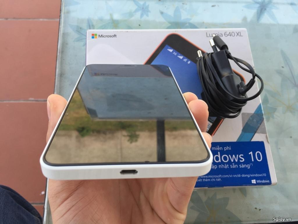 Lumia 640XL white fullbox bh dài - 2
