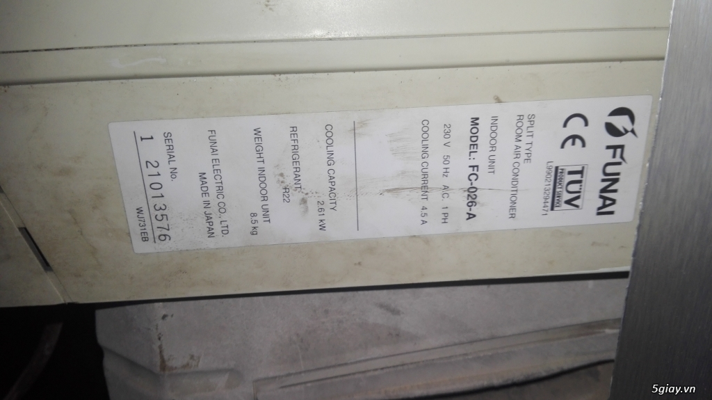 thanh lý cái máy lạnh - 3