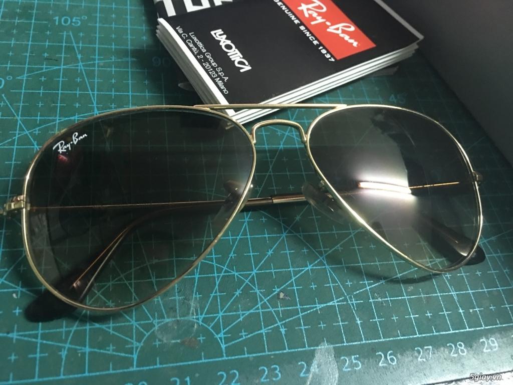 bán mắt kính rayban 3025 chính hãng đã xài