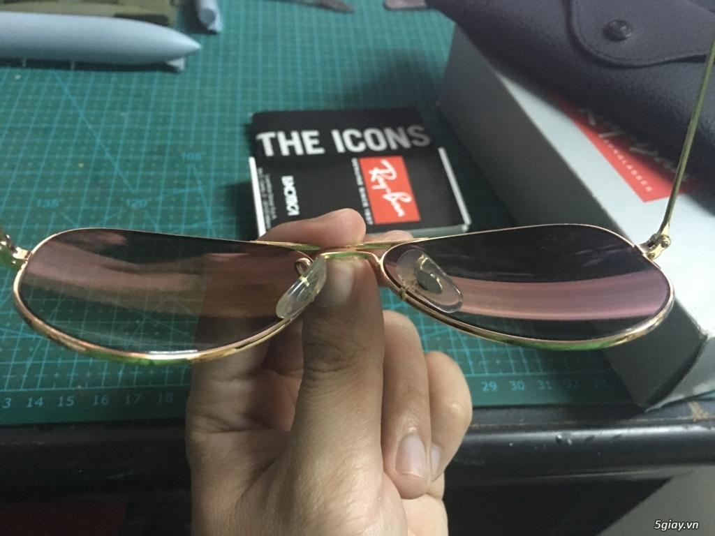 bán mắt kính rayban 3025 chính hãng đã xài - 1