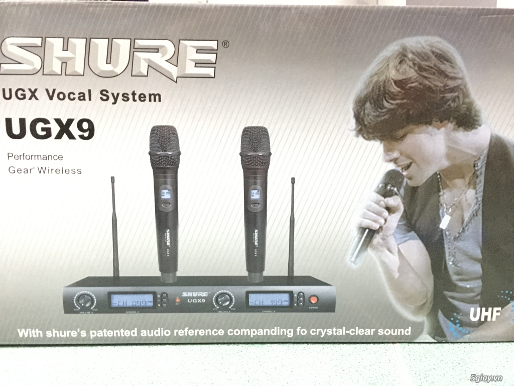 Micro Không Dây Music Wave Hàng Cty - 2