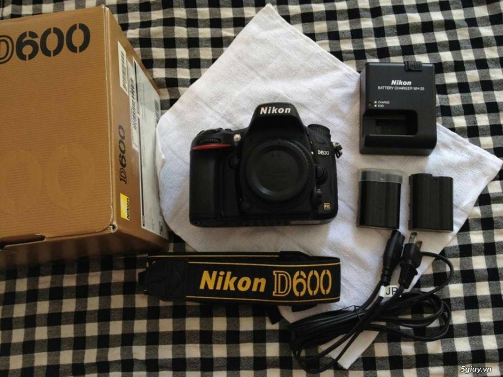 Nikon D600 99%