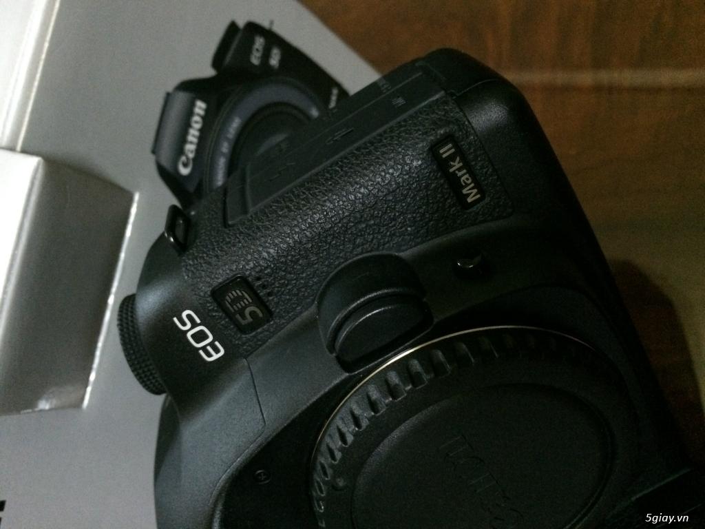 Bán Canon 5D Mark II Xách tay Canada ~ Fullbox 8k3 shot - 3