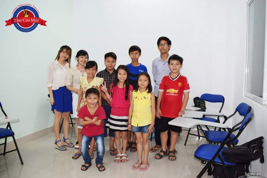Tuyển sinh lớp anh văn do GV việt kiều giảng dạy học phí bình dân