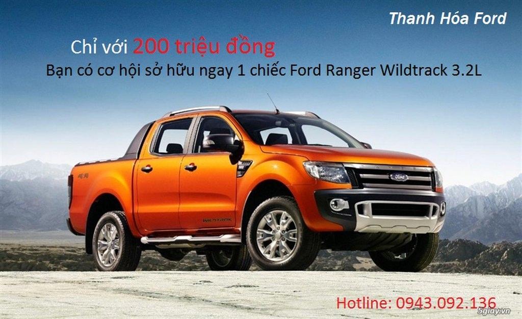 Thanh Hóa Ford - Mua bán xe Ford Ranger, Ecosport, Everest, Focus, Fiesta, Transit + nhiều ưu đãi