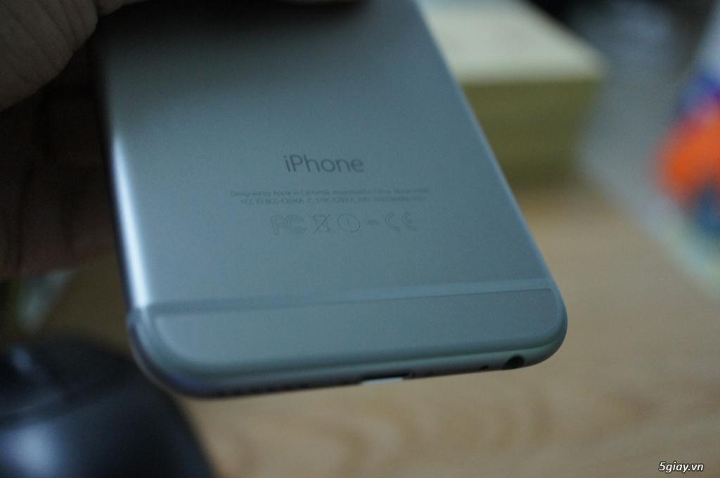 bán em Iphone 6 plus 16G, bản qt màu gray 99%.hình thật nha. - 2