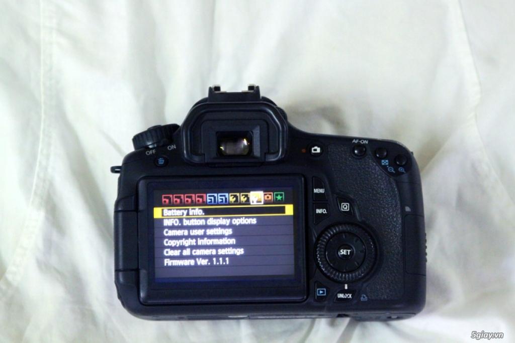 Canon 60D mới 99, máy chụp 5k shot | 5giay