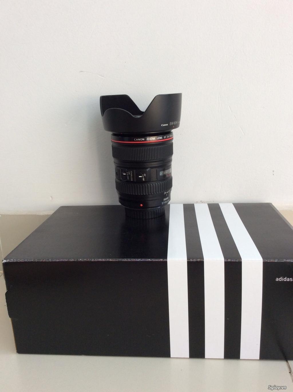 Bán canon 5D mark II - lens 24-105 code UA đẹp . giá tốt ăn tết. - 2