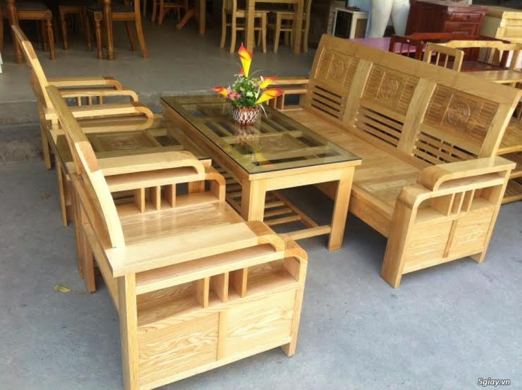 Bàn ghế giường tủ gỗ sồi Mỹ và Nga giá tốt nhất Sài Gòn - 2