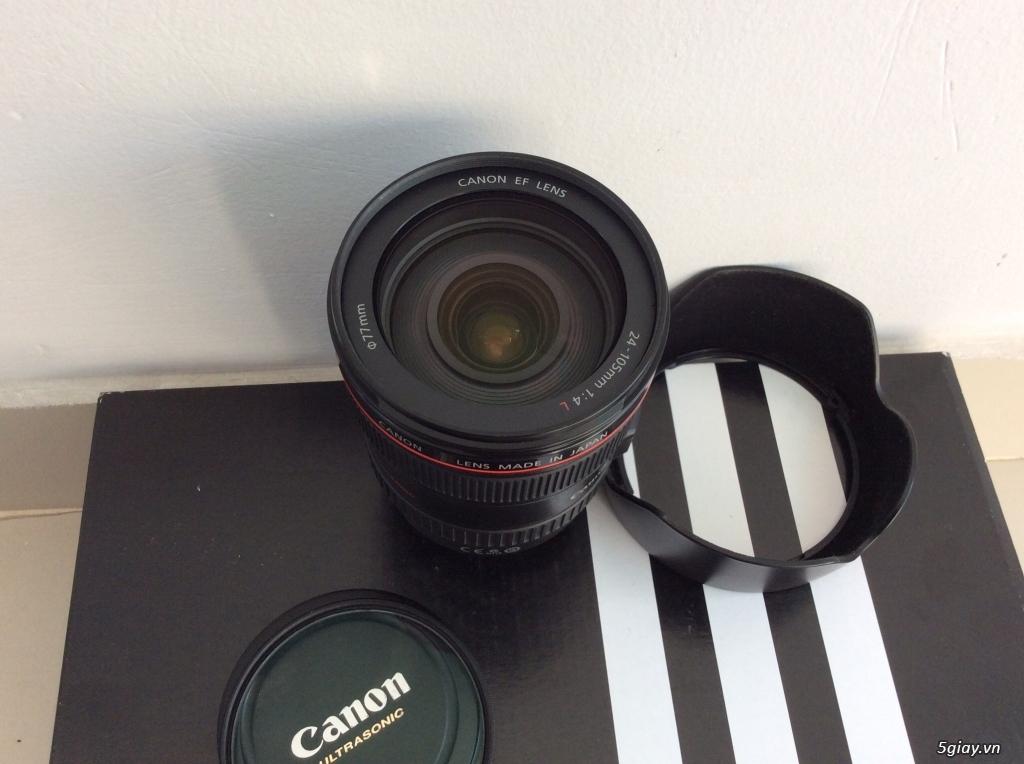 Bán canon 5D mark II - lens 24-105 code UA đẹp . giá tốt ăn tết. - 4