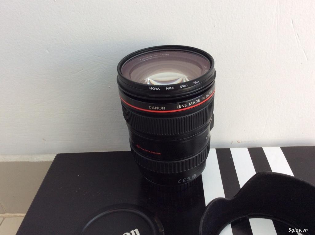 Bán canon 5D mark II - lens 24-105 code UA đẹp . giá tốt ăn tết. - 5