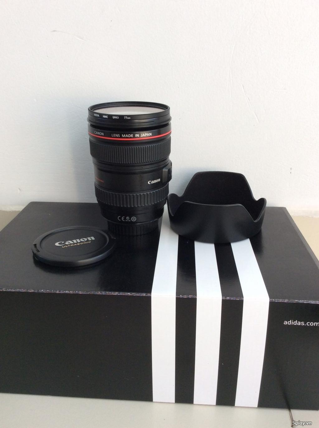 Bán canon 5D mark II - lens 24-105 code UA đẹp . giá tốt ăn tết. - 1
