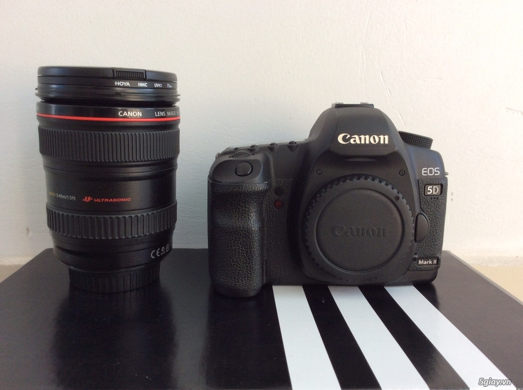 Bán canon 5D mark II - lens 24-105 code UA đẹp . giá tốt ăn tết.