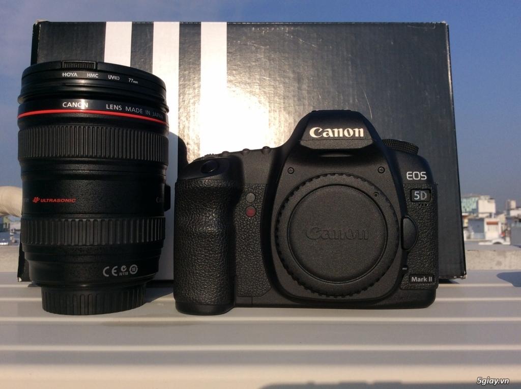 Bán canon 5D mark II - lens 24-105 code UA đẹp . giá tốt ăn tết. - 3