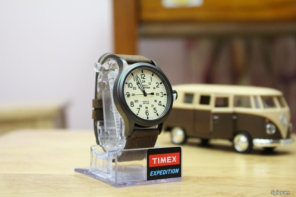 Đồng hồ Timex Expedition, Timex Scout, Timex Weekender - brand-new 100% - nguyên seal điều khiển