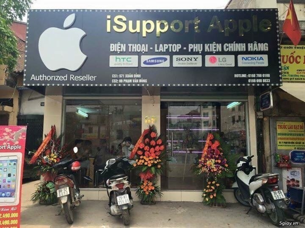 PHA GIA IPHONE MIEN BAC ISUPPORTAPPLECOMVN