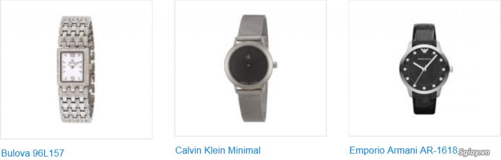 Đồng hồ nữ xách tay USA, chính hãng, giá hấp dẫn