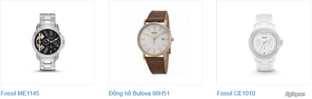 Đồng hồ nam xách tay USA, chính hãng, giá hấp dẫn - 12