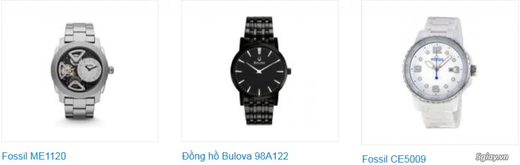 Đồng hồ nam xách tay USA, chính hãng, giá hấp dẫn - 10