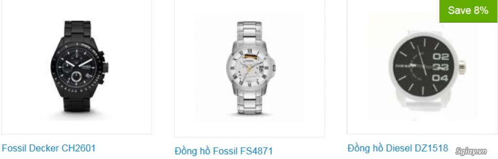 Đồng hồ nam xách tay USA, chính hãng, giá hấp dẫn - 5