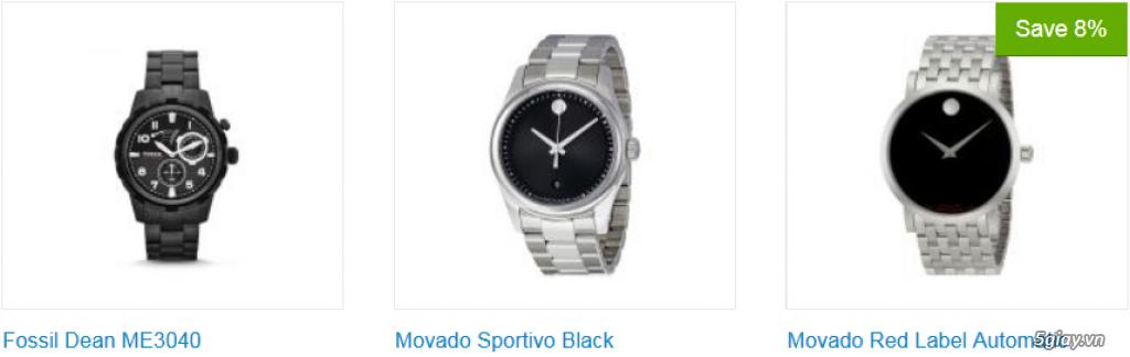 Đồng hồ nam xách tay USA, chính hãng, giá hấp dẫn - 13