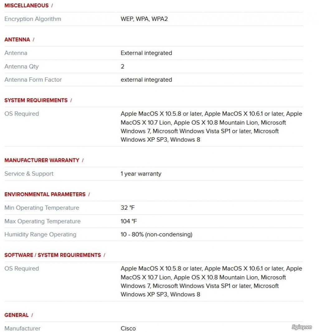 Dư dùng bán router wifi Linksys EA6350 chính hãng mới mua tháng 1/2016 - 1
