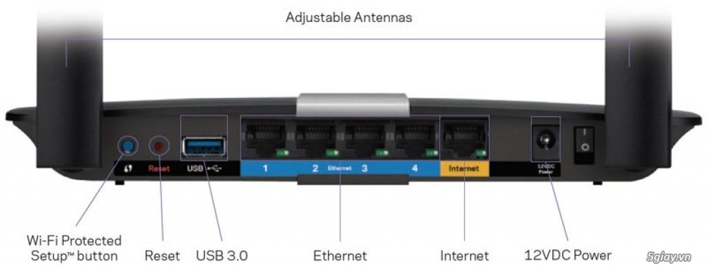 Dư dùng bán router wifi Linksys EA6350 chính hãng mới mua tháng 1/2016 - 3