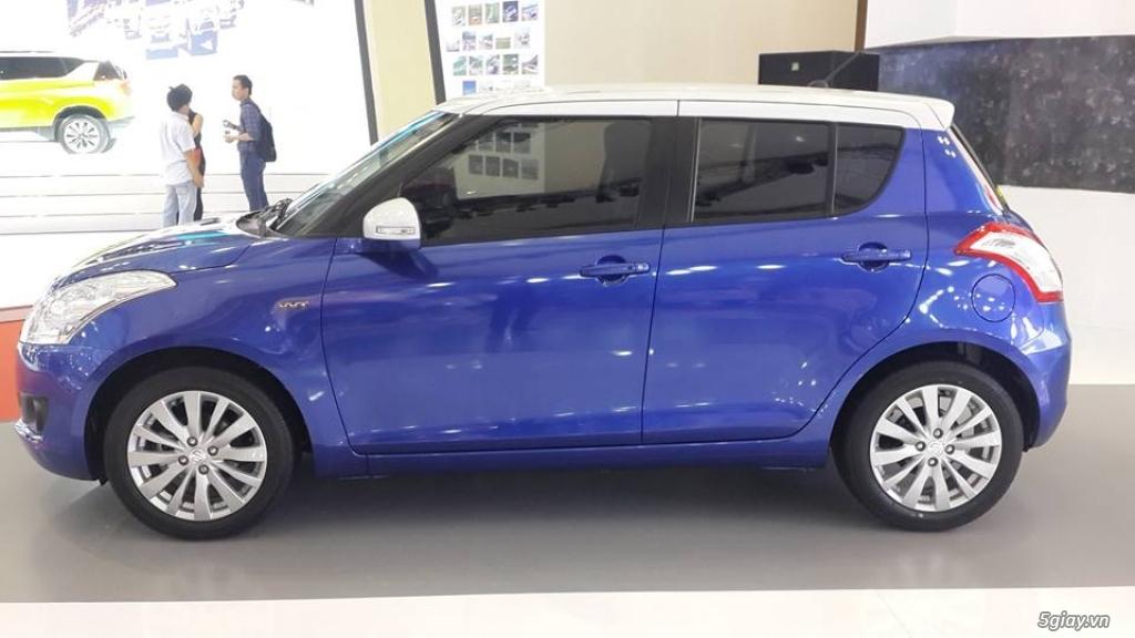 Xe 5 cho Suzuki Swift 2016 cho gia dinh nho