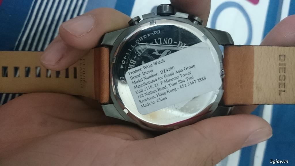 [ĐÔN GIÁ]Lên sàn đồng hồ hàng hiệu Diesel mới siêu chất End 23h59 ngày 25/02 - 1