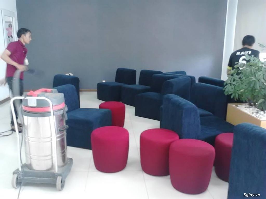 Dịch vụ giặt ghế văn phòng, ghế sofa ở Bình Dương