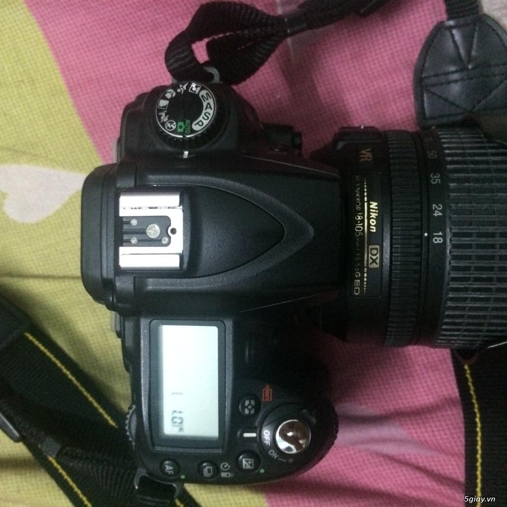 Nikon D90 mới 99% + Lens kit 50 1.8 +Lens 18-135 giá tốt nè - 2