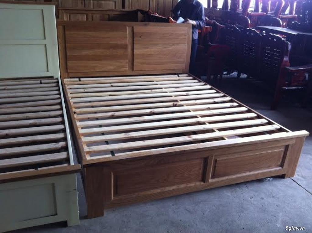 Bàn ghế giường tủ gỗ sồi Mỹ và Nga giá tốt nhất Sài Gòn - 22
