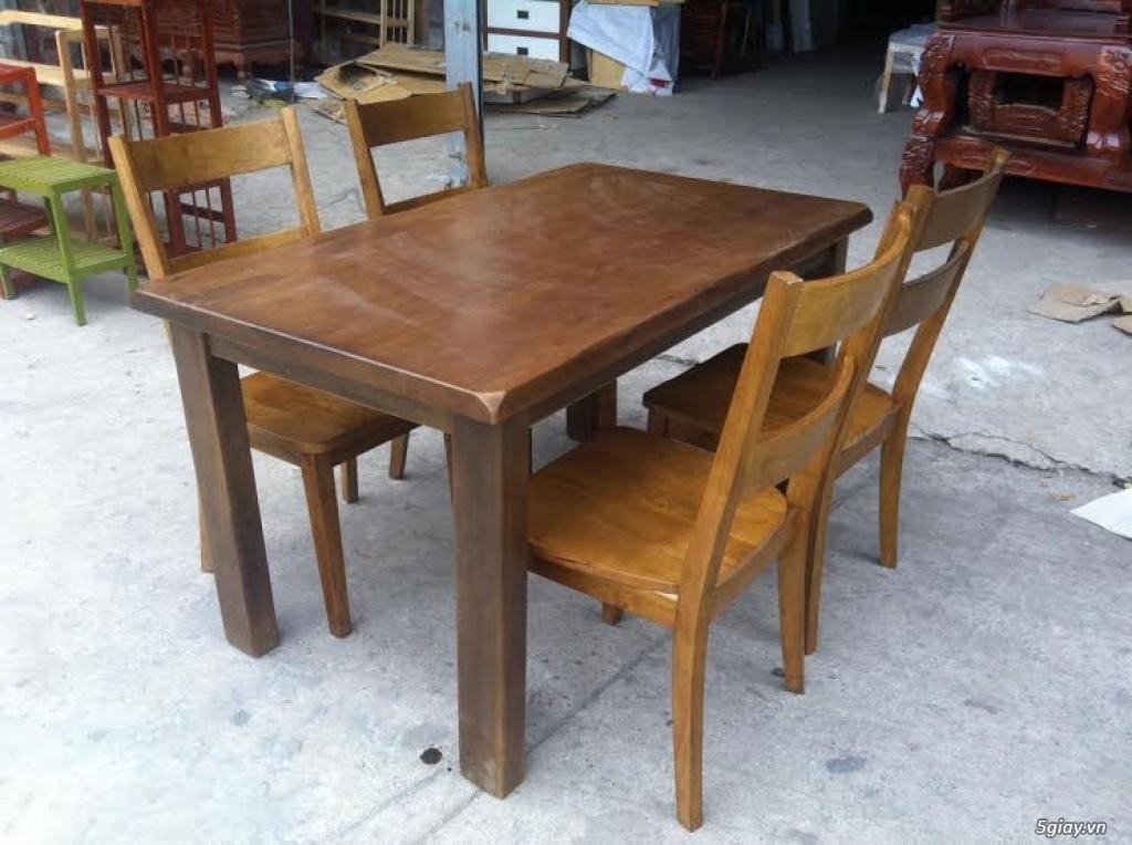 Bàn ghế giường tủ gỗ sồi Mỹ và Nga giá tốt nhất Sài Gòn - 33