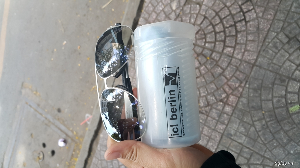 Thanh lý vài mắt kính Chrome Heart,Thom Browne,Police xịn, xách tay,fullbox - 5