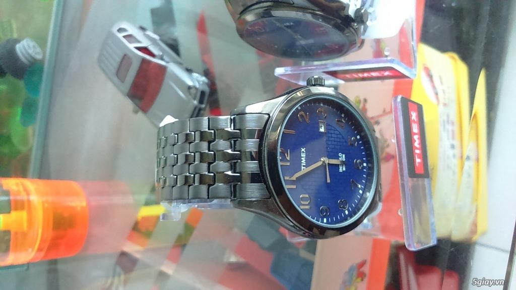 Cần bán đồng hồ Timex Nam T2P2039J  dây thép đen xám chính hãng mới 100% - 2