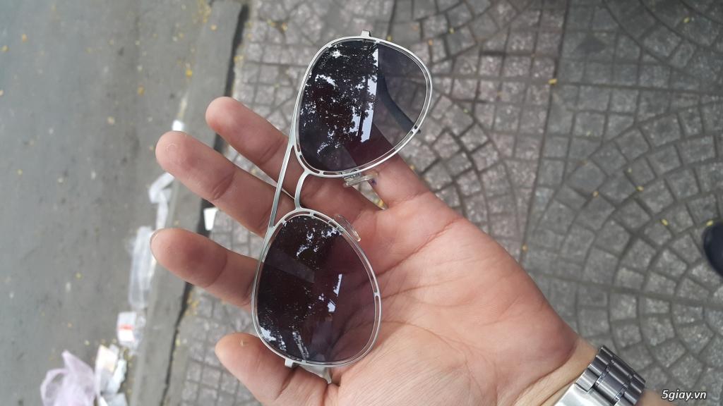 Thanh lý vài mắt kính Chrome Heart,Thom Browne,Police xịn, xách tay,fullbox - 16