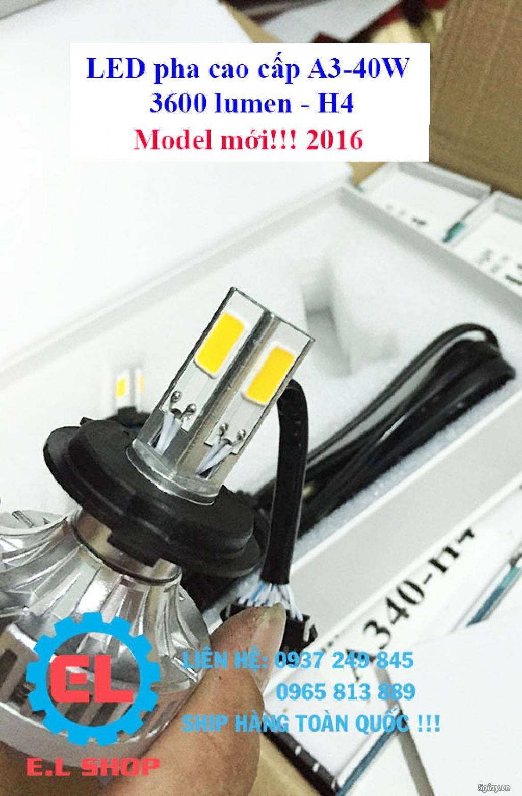 E.L SHOP - Đèn Led siêu sáng xe ô tô: XHP70, XHP50, Philips Lumiled, gương cầu xenon... - 27