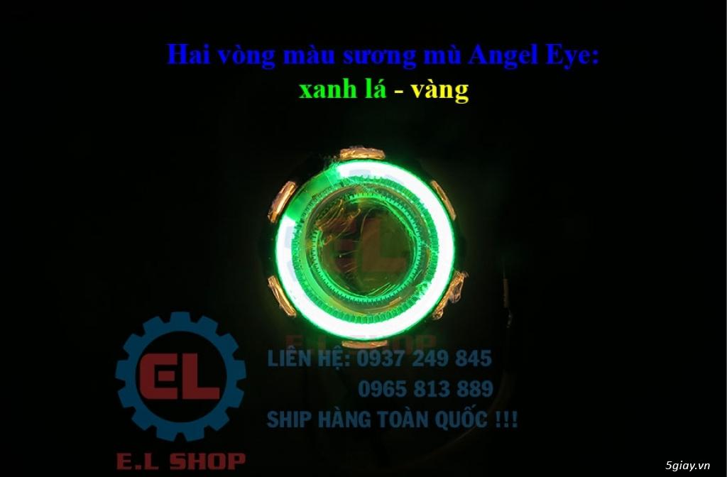 E.L SHOP - Đèn Led siêu sáng xe ô tô: XHP70, XHP50, Philips Lumiled, gương cầu xenon... - 45
