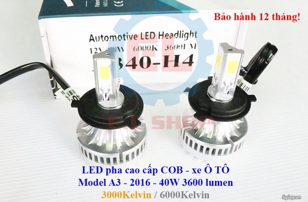 E.L SHOP - Đèn Led siêu sáng xe ô tô: XHP70, XHP50, Philips Lumiled, gương cầu xenon... - 26
