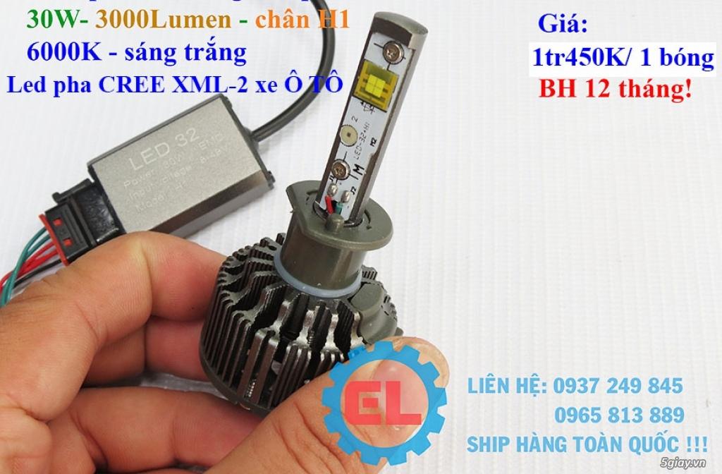 E.L SHOP - Đèn Led siêu sáng xe ô tô: XHP70, XHP50, Philips Lumiled, gương cầu xenon... - 16