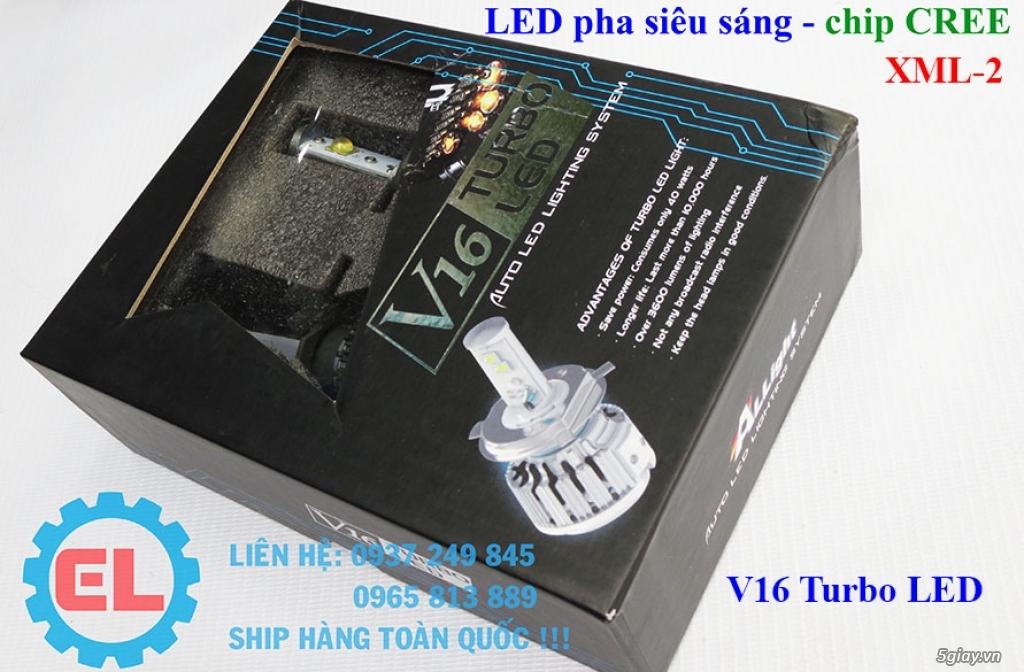 E.L SHOP - Đèn Led siêu sáng xe ô tô: XHP70, XHP50, Philips Lumiled, gương cầu xenon... - 15
