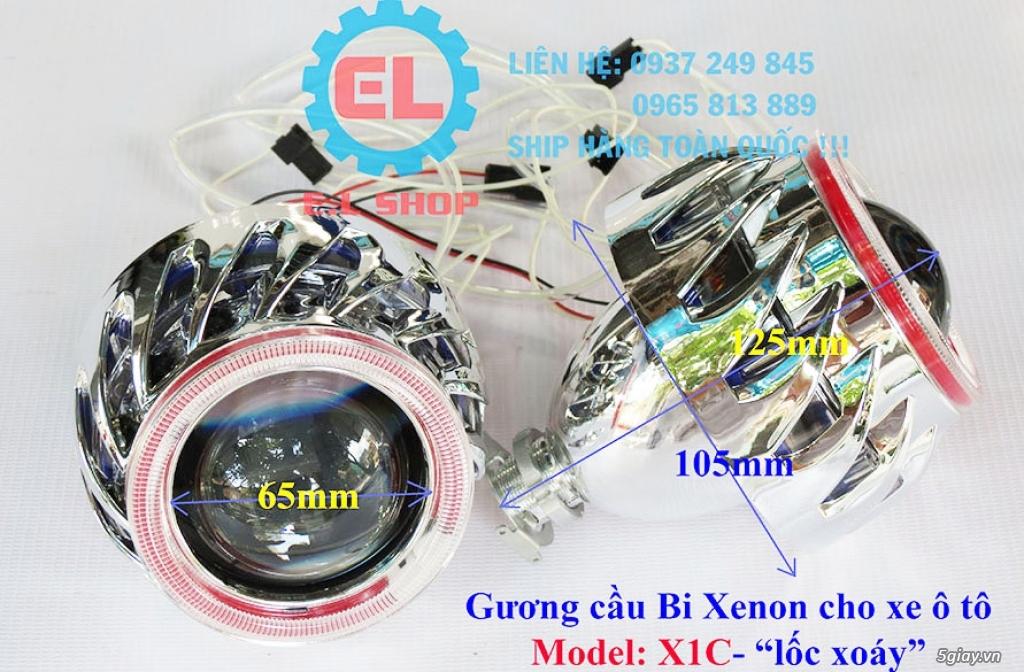 E.L SHOP - Đèn Led siêu sáng xe ô tô: XHP70, XHP50, Philips Lumiled, gương cầu xenon... - 39