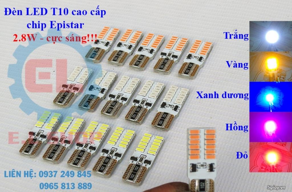 E.L SHOP - Đèn Led siêu sáng xe ô tô: XHP70, XHP50, Philips Lumiled, gương cầu xenon... - 5