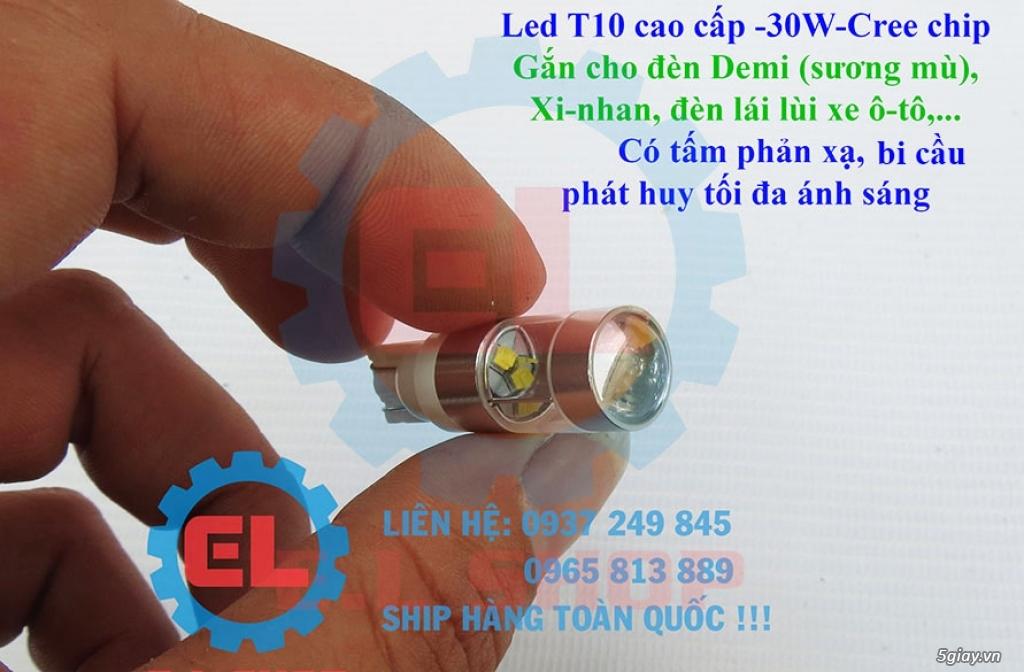 E.L SHOP - Đèn Led siêu sáng xe ô tô: XHP70, XHP50, Philips Lumiled, gương cầu xenon... - 1
