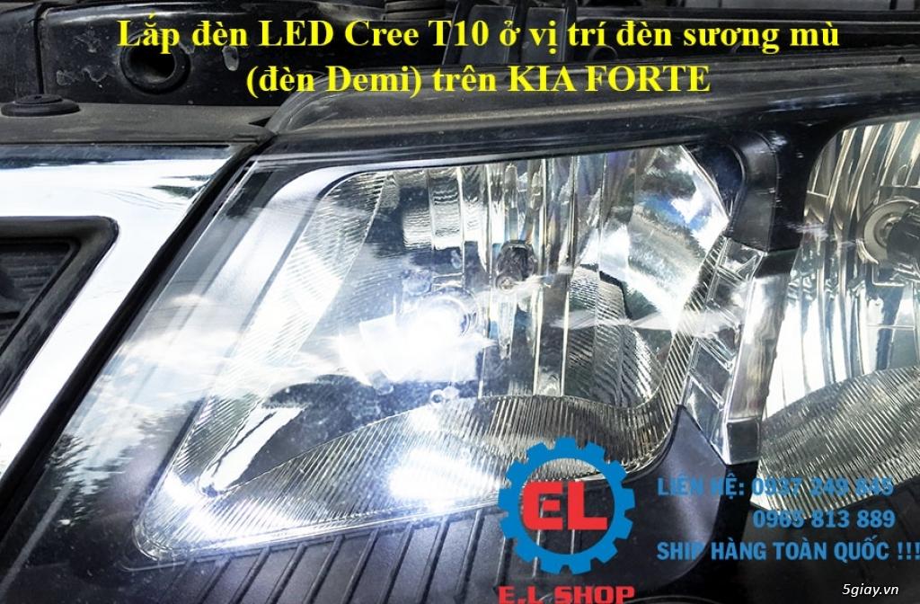 E.L SHOP - Đèn Led siêu sáng xe ô tô: XHP70, XHP50, Philips Lumiled, gương cầu xenon... - 20