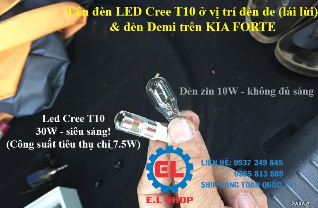 E.L SHOP - Đèn Led siêu sáng xe ô tô: XHP70, XHP50, Philips Lumiled, gương cầu xenon... - 19